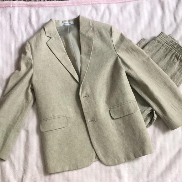 be127cc023 Little boys dress suit, blazer and pants